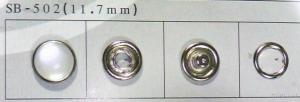 Prong Snap Button, Pearl Button sb-502